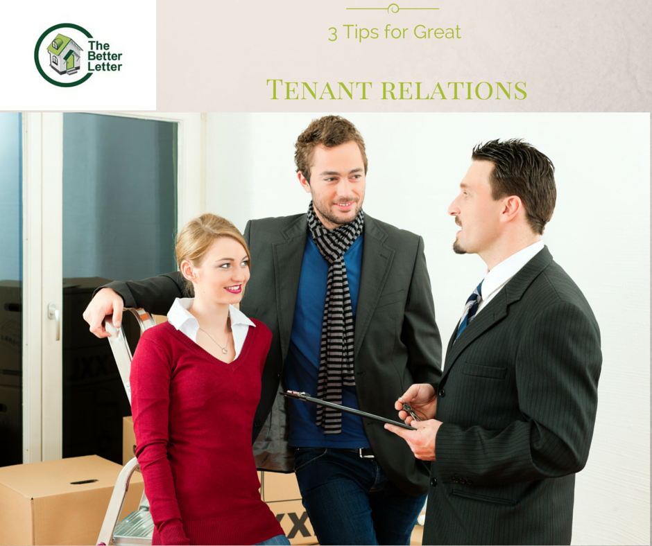 3 Tips for Great Tenant Relations