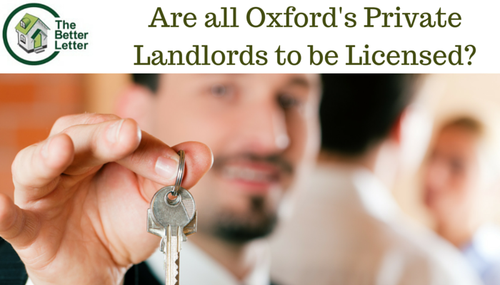 Oxford Landlord Licensing